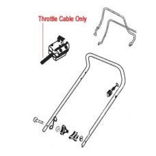 AL-KO Replacement Throttle Cable (AK342237)