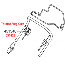 AL-KO Replacement Throttle Cable (AK531828)