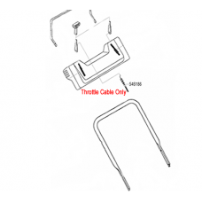 AL-KO Replacement Throttle Cable (AK545186)