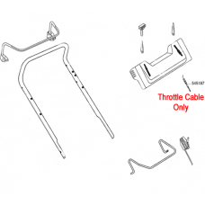 AL-KO Replacement Throttle Cable (AK545187)