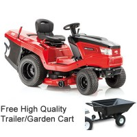 AL-KO Solo T23-125 HD V2 Vacuum Rear Collect Garden Tractor